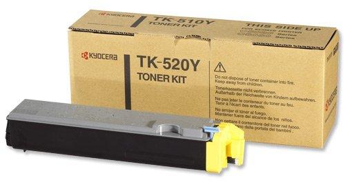 Vorschau: Original Kyocera Toner TK-520Y für FS-C5015N yellow