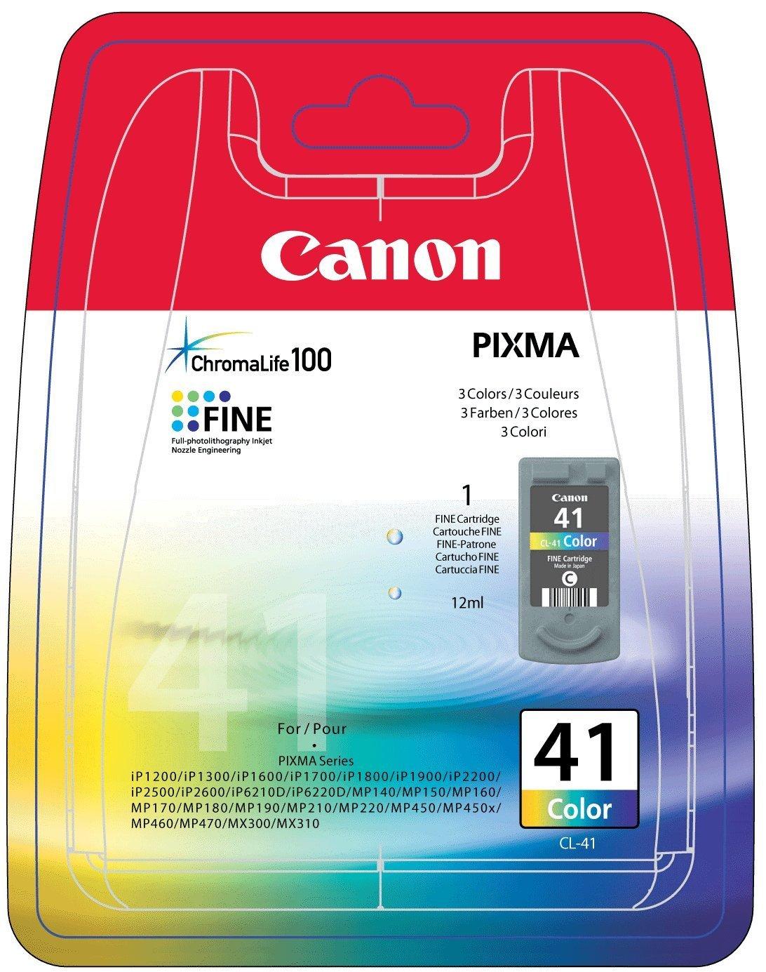 Vorschau: Original Canon CL-41 für PIXMA iP1600 2200 MP450 color
