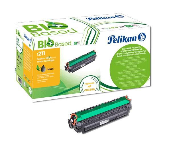 Pelikan biobasierter Toner ersetzt HP CB436A, Black, 2000 Seiten