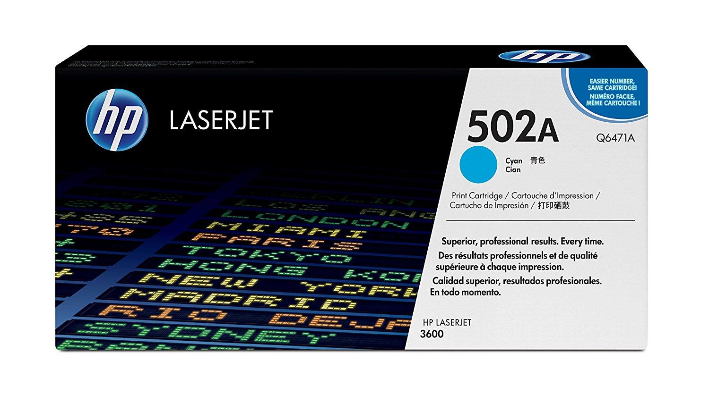 Vorschau: Original HP Toner Q6471A für COLOR LASERJET 3600 Serie cyan