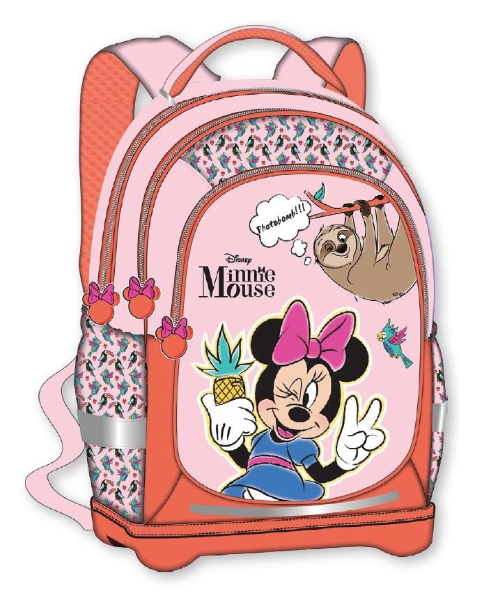 """Schulranzen """"Minnie Maus"""",, Gewicht: 680 g, Soft back, leicht verstellbare Schultergurte"""