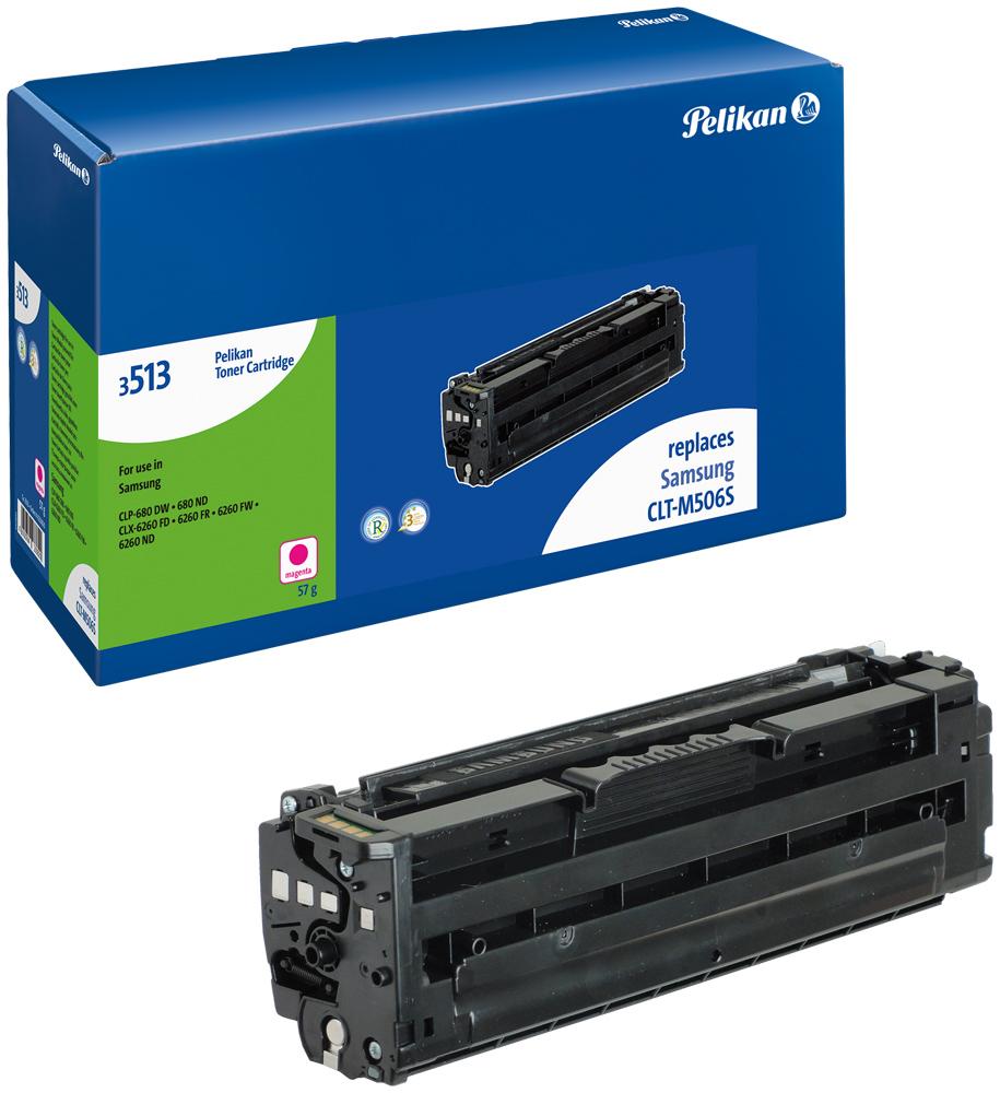Pelikan Toner 3513m komp. zu CLT-M508S Samsung CLP-680 DW etc. magenta