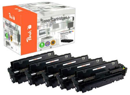 Peach Spar Pack Plus Tonermodule kompatibel zu HP CF410X*2, CF411X, CF412X, CF413X