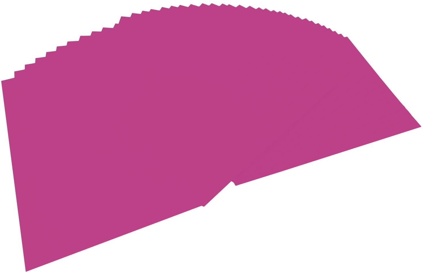 folia 6421 - Tonpapier eosin, DIN A4, 130 g/qm, 100 Blatt - zum Basteln und kreativen Gestalten von