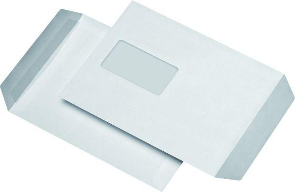 Elepa - rössler kuvert Versandtaschen C5, mit Fenster, selbstklebend, 90 g/qm, weiß, 500 Stück