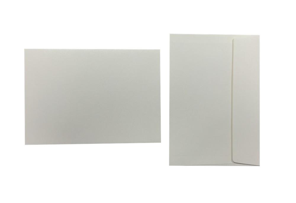 Inapa Shyne Umschläge C5 Pearly White 120g/m² 100 Stück