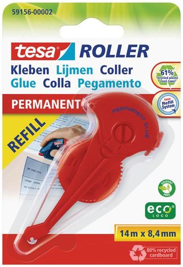 tesa Roller Kleben permanent ecoLogo Nachfüllkassette ( Blister )