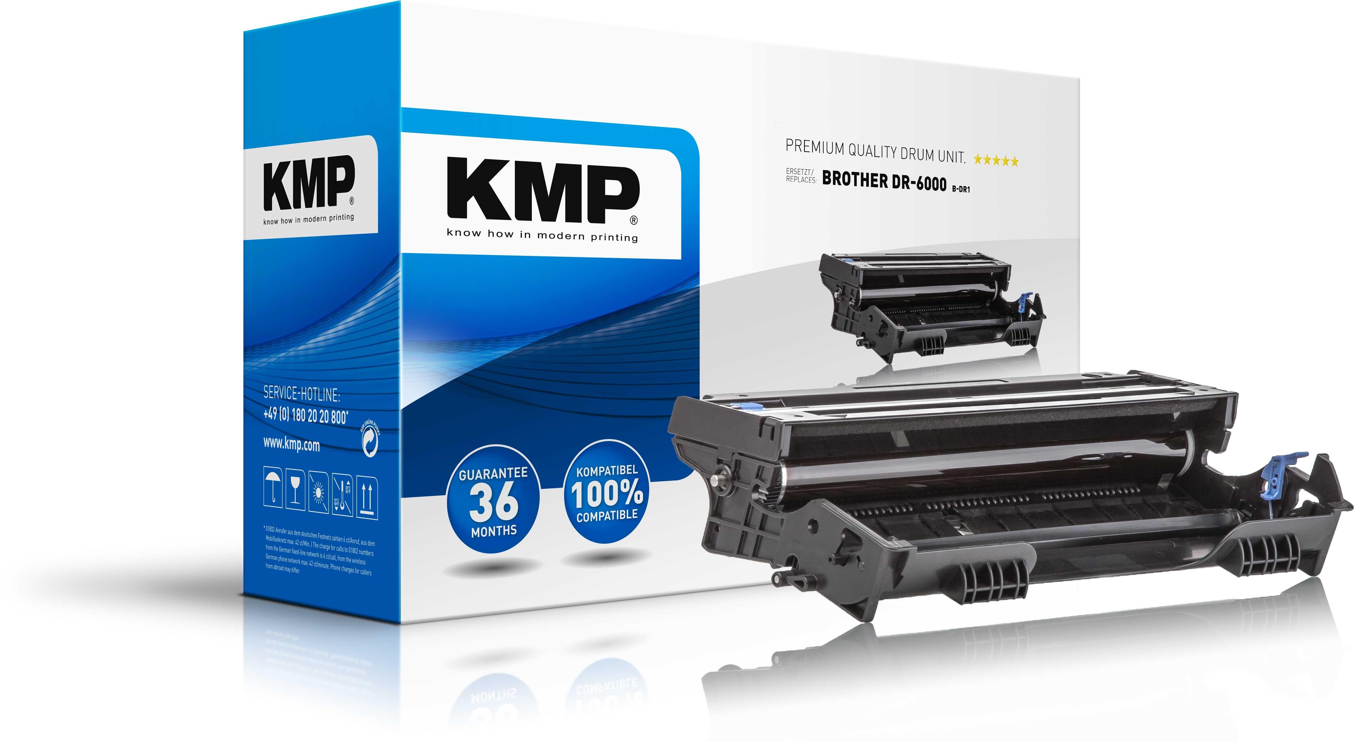 Vorschau: KMP Trommeleinheit für Brother DR-6000 HL 1030 1240 1250 1270