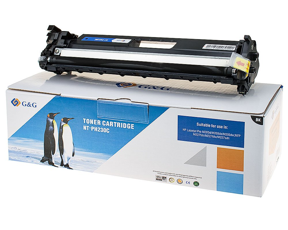 G&G Image Toner kompatibel zu HP HP 30A/ CF230A -Mit Chip- Schwarz