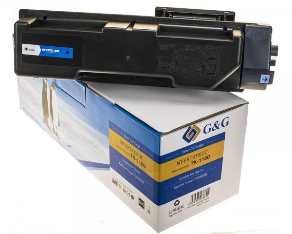 G&G Toner kompatibel zu Kyocera TK-1160/ 1T02RY0NL0 Schwarz
