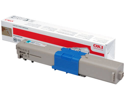 Original OKI Toner 44469706 für C300 / C310 / C310DN cyan