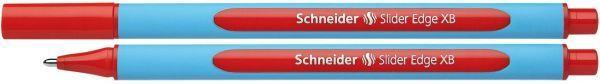 Schneider Kugelschreiber Slider Edge - Kappenmodell, XB, rot