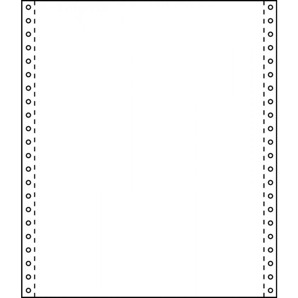 Tabellierpapier 24 cm x 30,5 cm 60g/m² blanko 2 fach