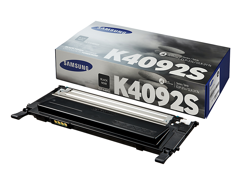 Vorschau: Original Toner Samsung CLT-K4092S für CLP-310 usw. black