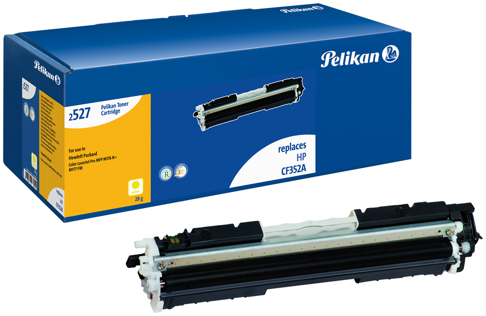 Pelikan Toner für HP CF352A Color LaserJetPro MFP M176N etc. yellow