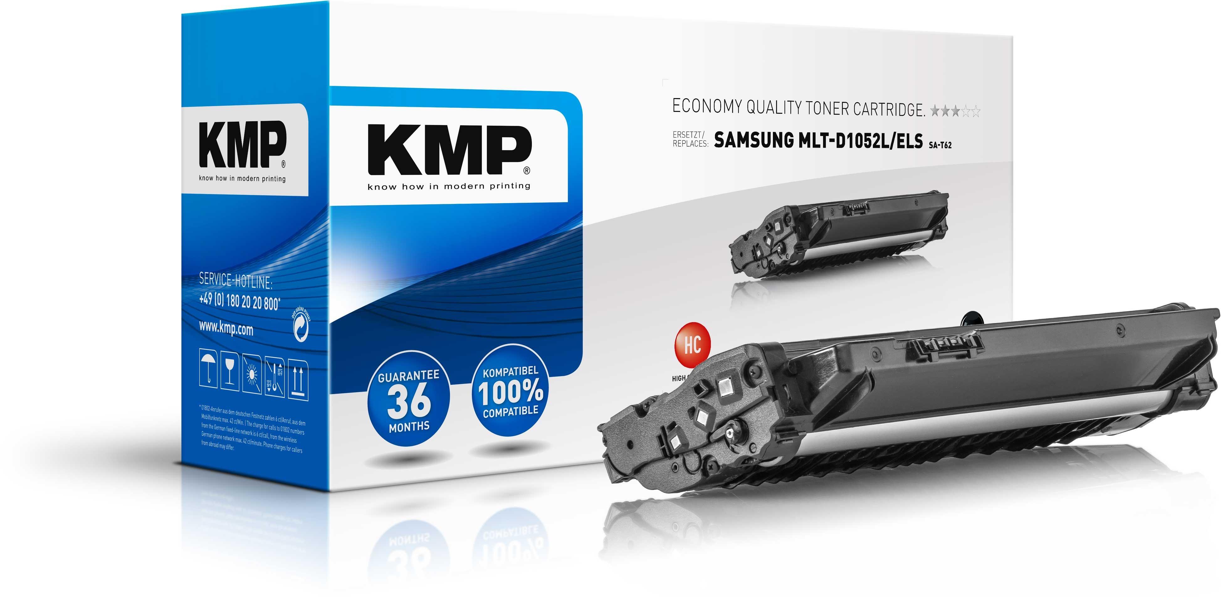 Vorschau: KMP Toner SA-T62 für MLT-D1052L/ELS Samsung ML-1910 etc. black