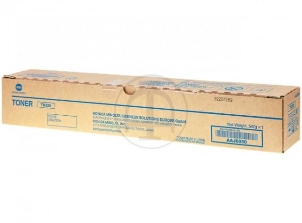 AAJ6050 KONICA BIZHUB 368E TONER BLACK 30.000Seiten TN326