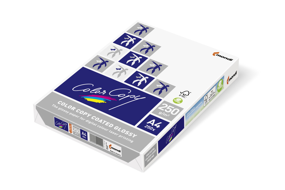 Color Copy Glossy 250 g/m² A4 Fotopapier Glossypapier 250 Blatt