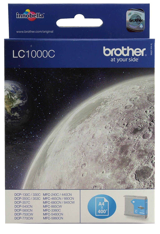 Vorschau: Original Brother LC1000C für Brother DCP-130 MFC-240C cyan