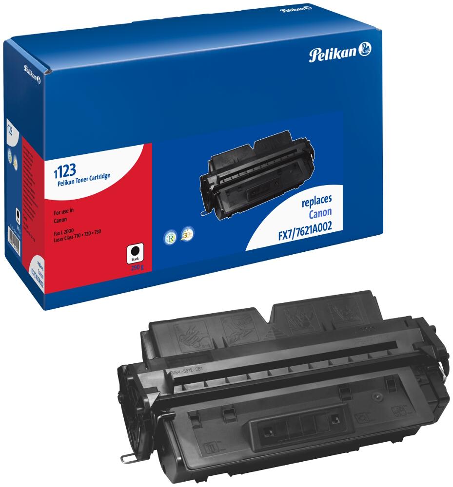 Pelikan Toner 1123 komp. zu 7621A002 Canon Fax L2000 black