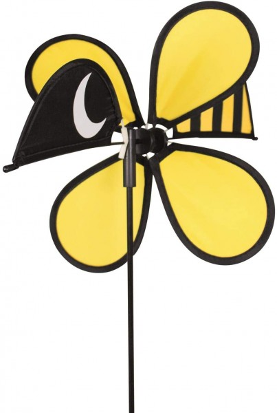 Paul Günther 1306 - Windspiel Funny Bee, ca. 30 x 55 cm groß, als Dekoration für Garten, Terrasse un