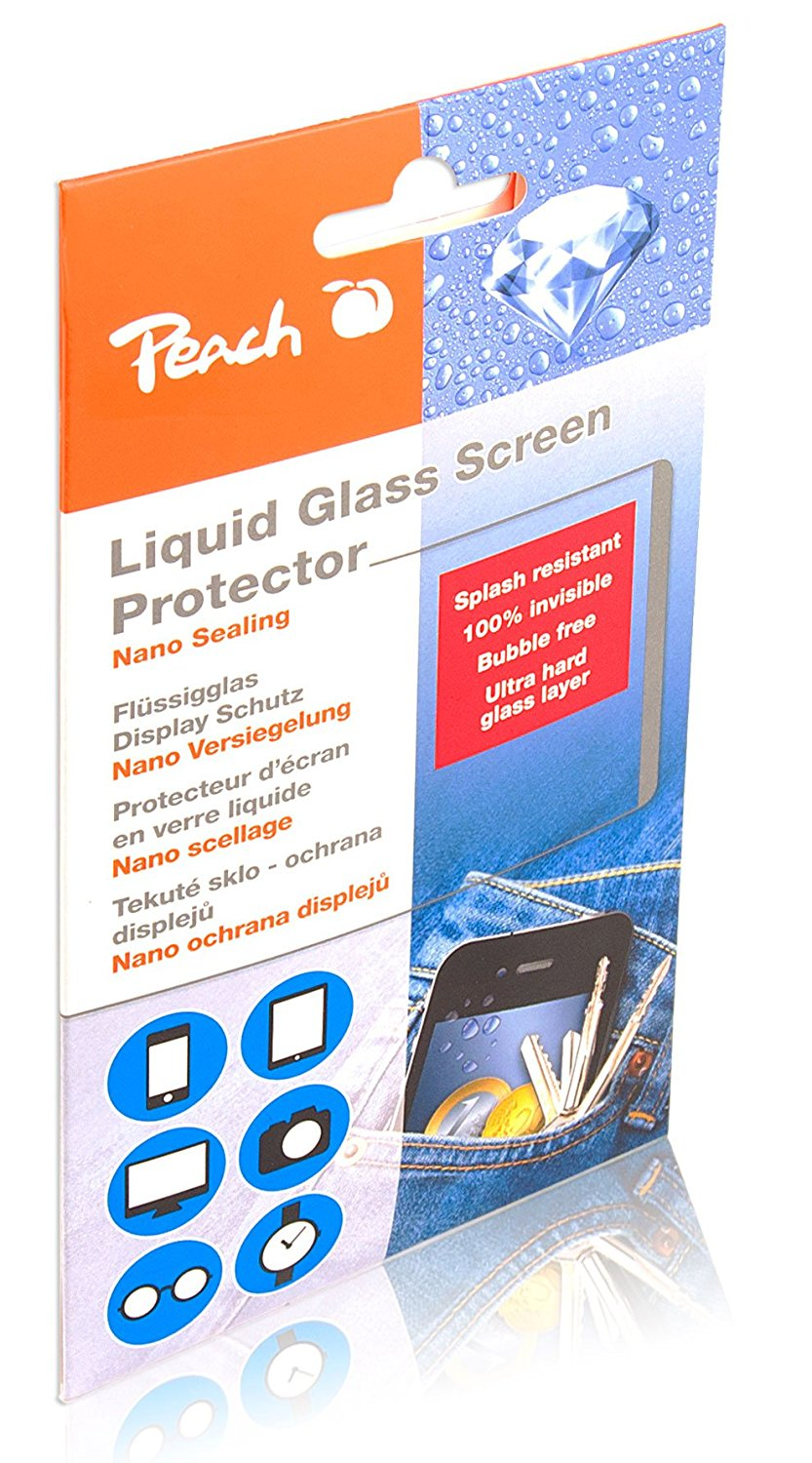 Peach Liquid Glass Display Schutz PA109