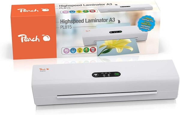 Peach Professional Highspeed Laminator A3 PL815