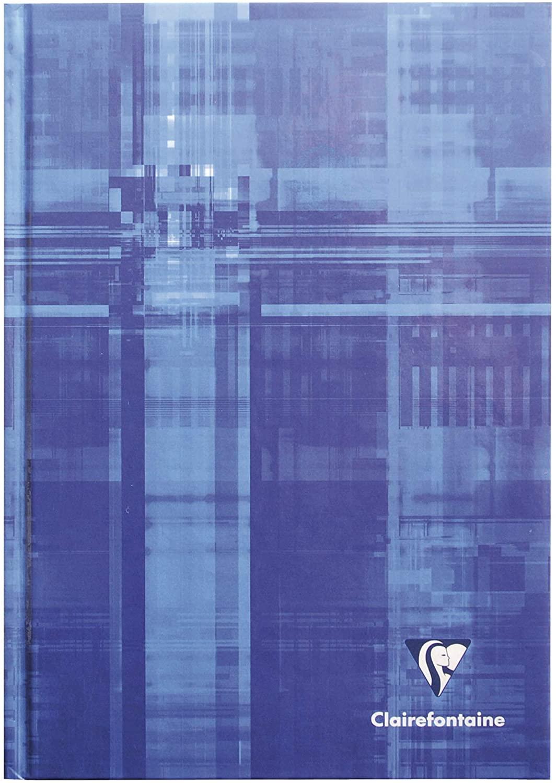 Clairefontaine 9510C Kladde A5, starker Deckel, blanko, 96 Blatt, 5 Stück