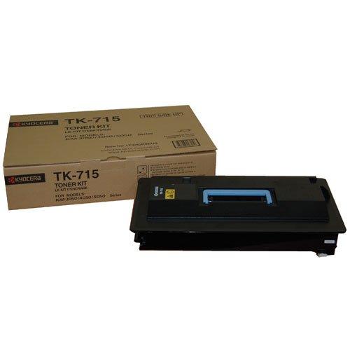 Original Kyocera Toner TK-715 für KM-3050 4050 5050 Serie schwarz