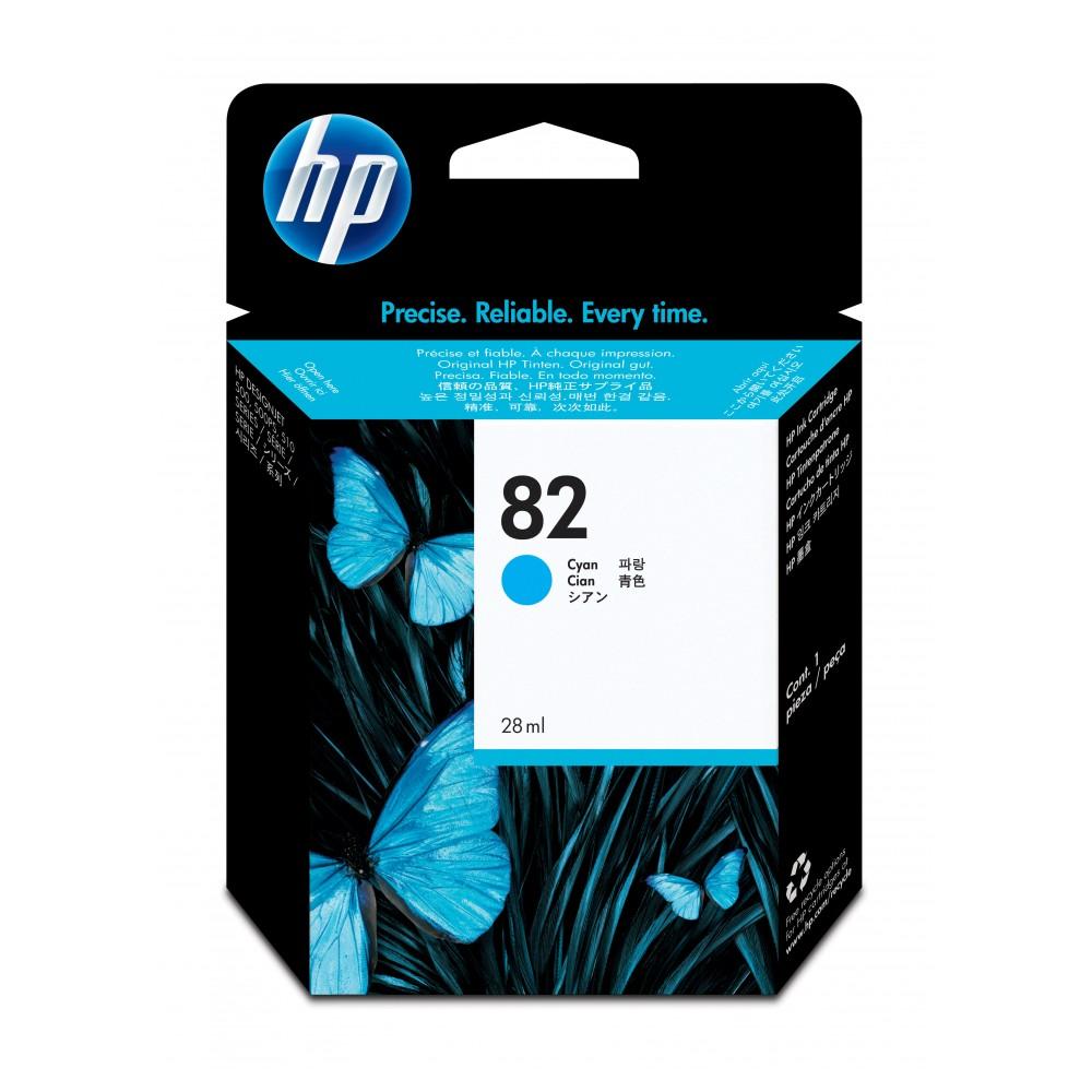 HP Patrone C4911A Nr. 82 cyan für Designjet 500 /800