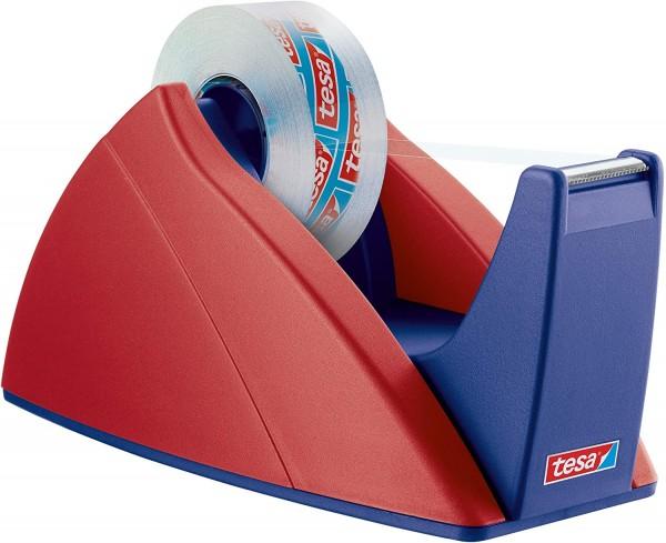 tesa FILM Easy Cut Tischabroller rot/blau für max 33m x 19mm leer
