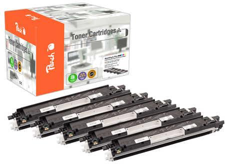 Peach Spar Pack Plus Tonermodule kompatibel zu HP No. 126A