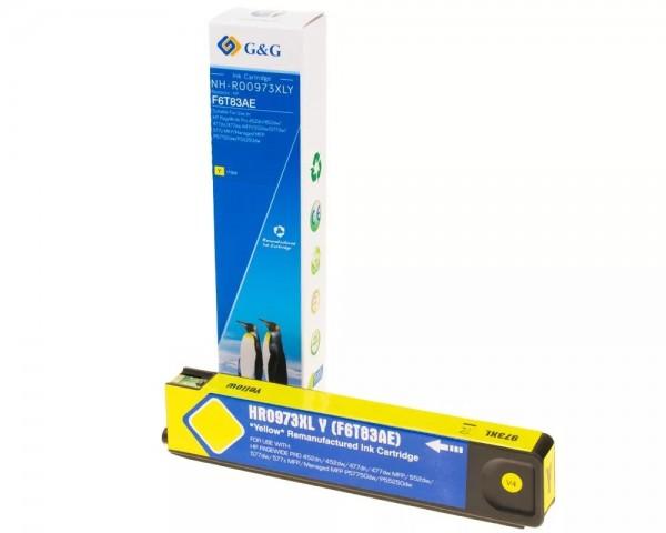 G&G Image Druckerpatrone kompatibel zu HP 973XL Gelb
