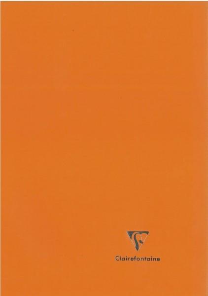 Clairefontaine 971511C Heft Koverbook (DIN A4, 21 x 29,7 cm, liniert mit Rand, 48 Blatt, blickdicht)