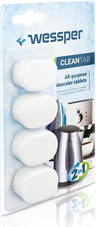 WESSPER® Original Entkalkungstabletten für Kaffeevollautomaten/Kaffeemaschinen Jura IMPRESSA F50 0-E
