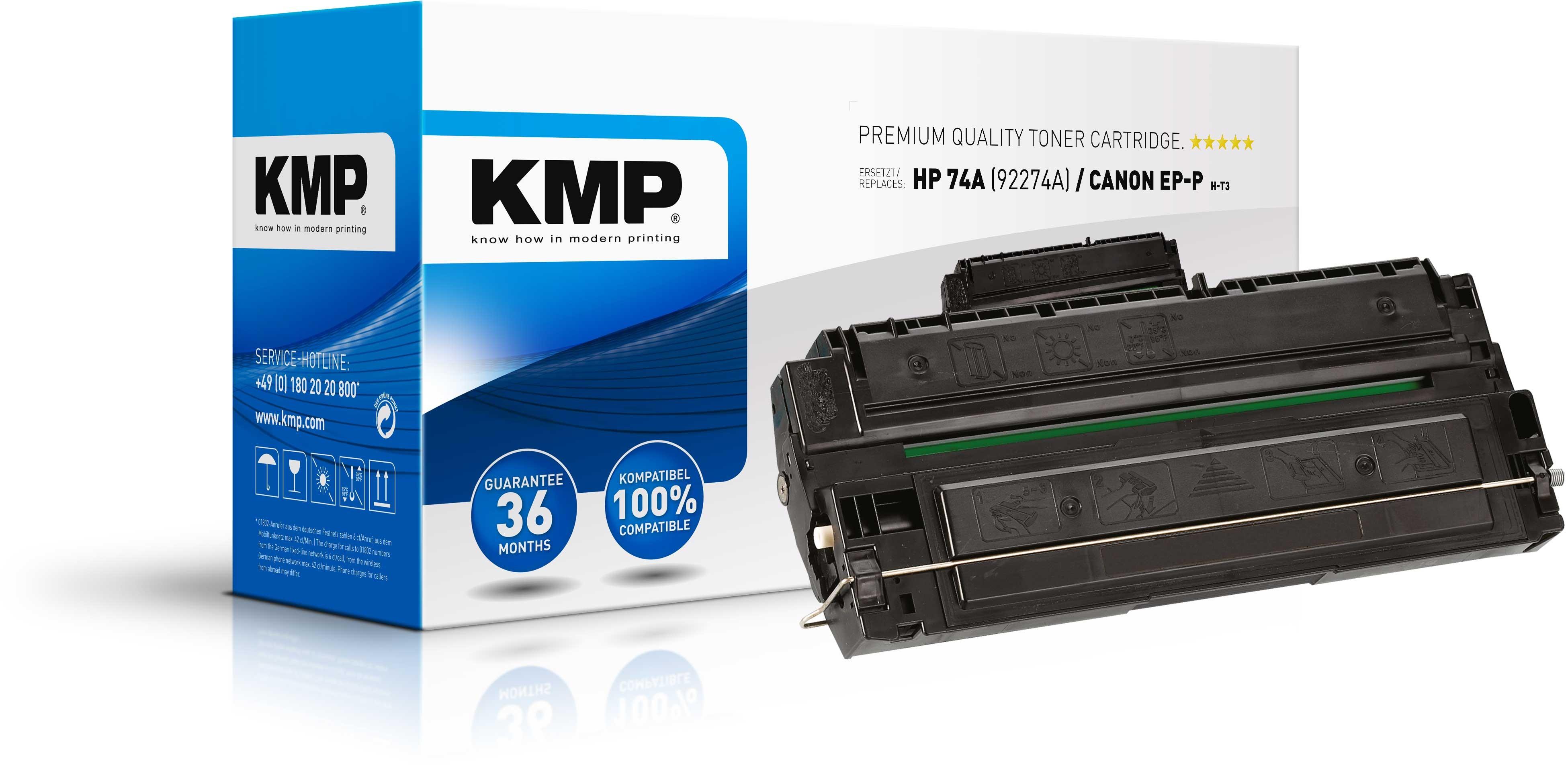 Vorschau: KMP Toner für HP 92274A Laserjet 4L / 4ML / 4MP / 4P High Yield