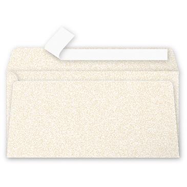 Clairefontaine Pollen Umschläge DIN-Lang Perlmutt-Elfenbein 120g/m² 20 Stück