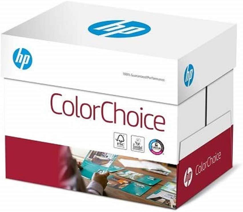 HP Farblaserpapier, Druckerpapier Colorchoice CHP750 - 90 g, A4, 2500 Blatt (5x500), weiß