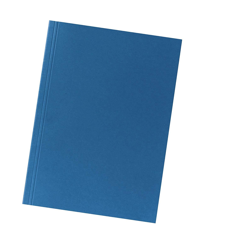 Falken Aktendeckel 80004120 BLAU aus Recycling-Karton für DIN A4 Blauer Engel Hefter ideal für das B