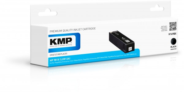 KMP Patrone H169BX für (L0R12A) HP 981X HP PageWide Enterprise Color 550 Series HP PageWide Enterpri