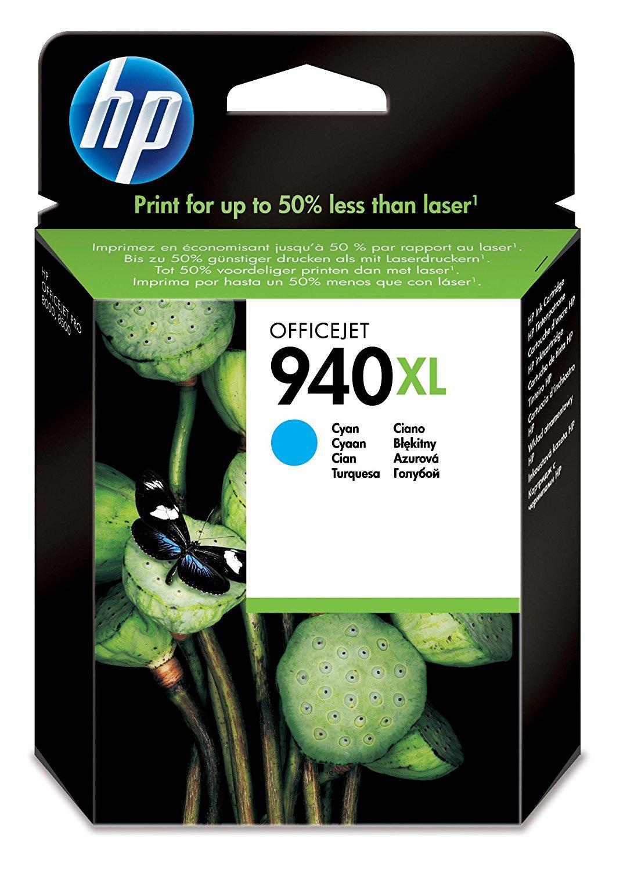HP Tintenpatrone C4907AE  Nr. 940XL fürOfficejet Pro 8000 etc. cyan