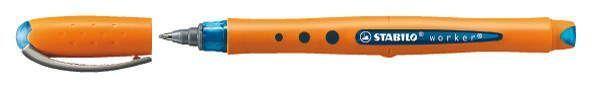 Stabilo® Tintenroller worker® fine, 0,5 mm, blau