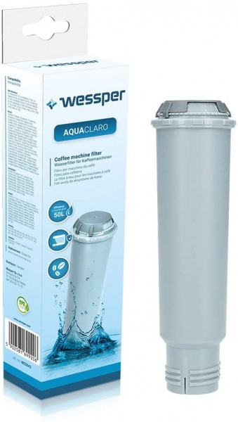 Wessper AquaClaro Filterpatrone ersetzen Krups F088 01 für Bosch TCZ6003, Benvenuto TCA 5, TCA 6, Si