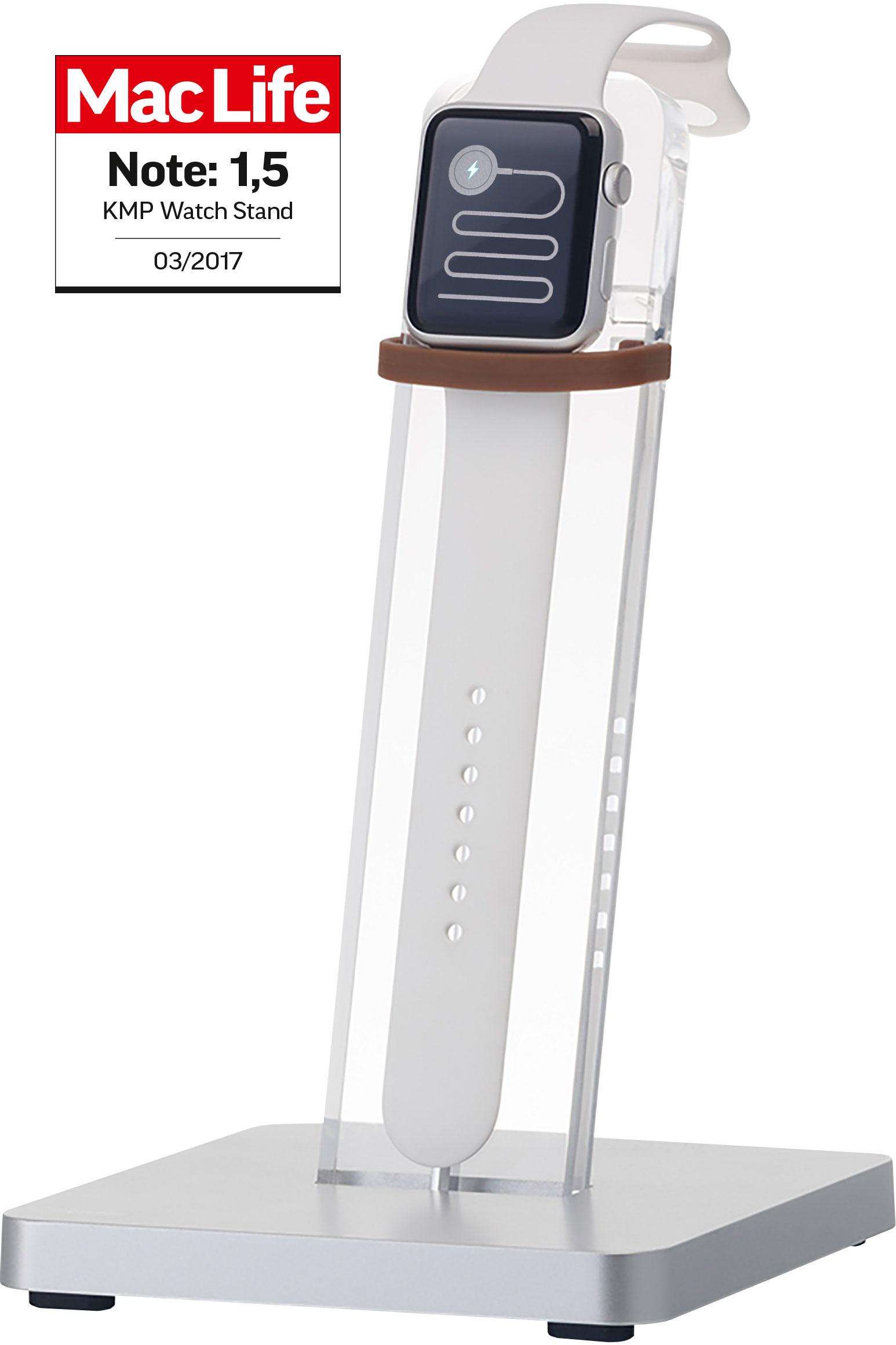 Vorschau: KMP Smartwatch Ständer für Apple Watch acryl