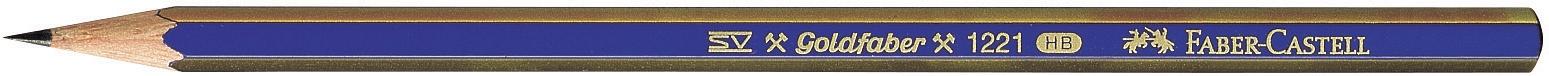 Faber-Castell Bleistift Goldfaber 1221 F