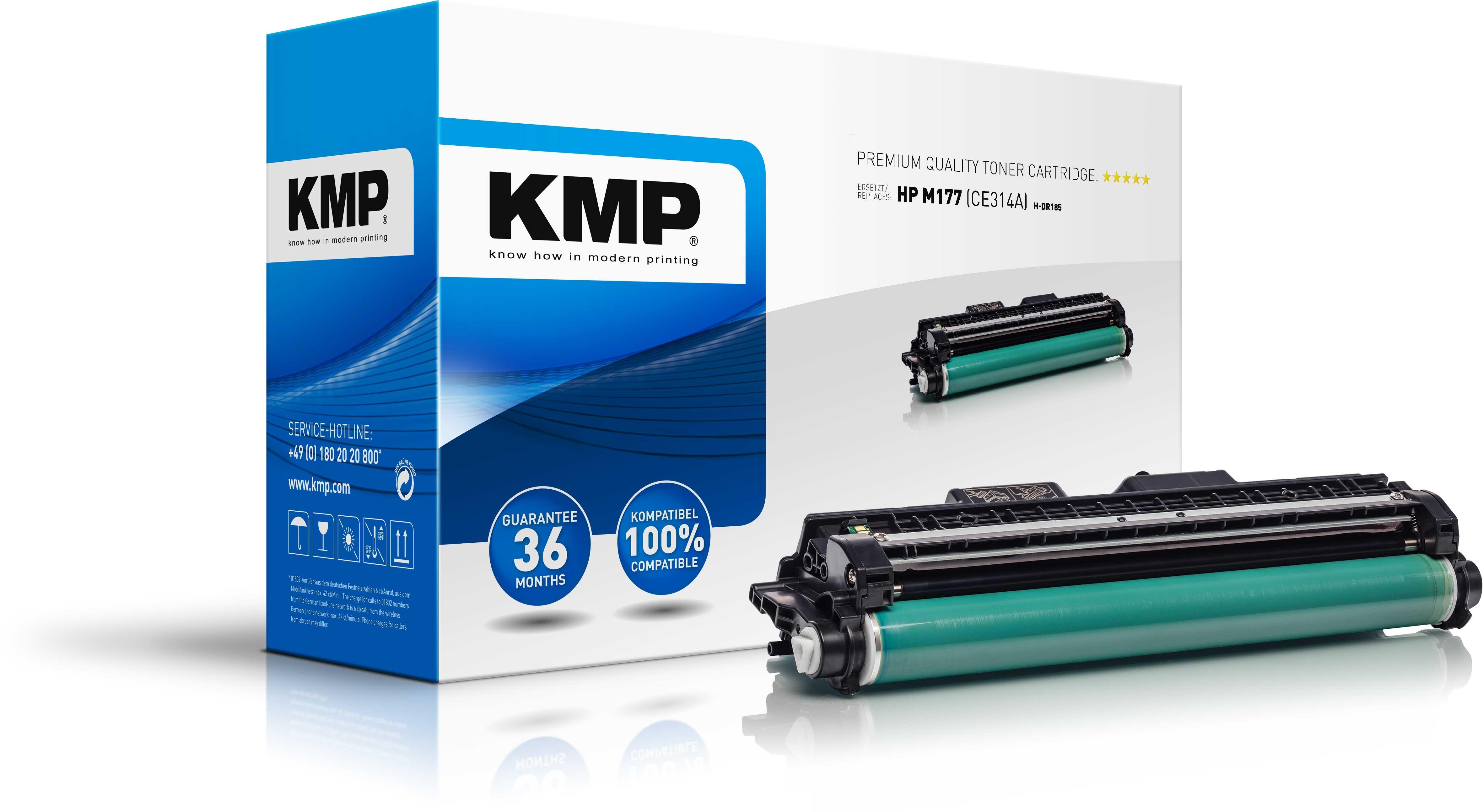 KMPTrommel H-DR185  für HP M177 (CE314A) Color Laserjet Pro CP10010 series etc.