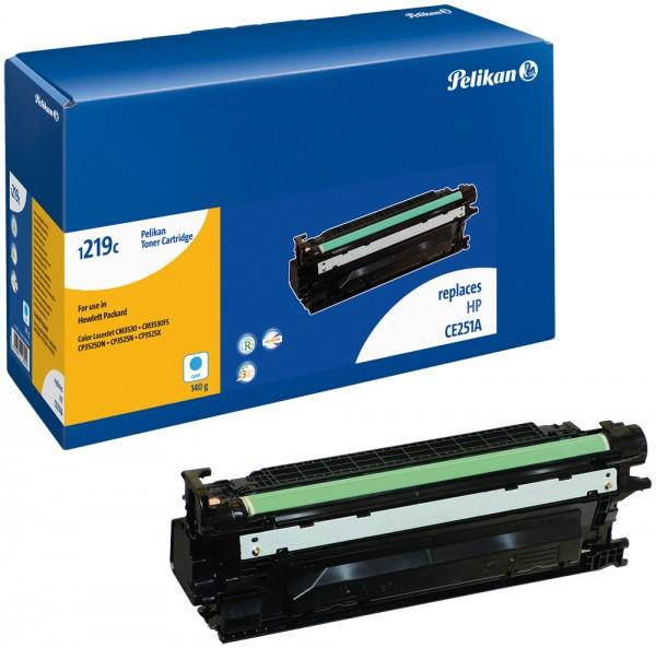 Pelikan Toner 1219 komp. zu CE251A HP LaserJet CP3525 cyan