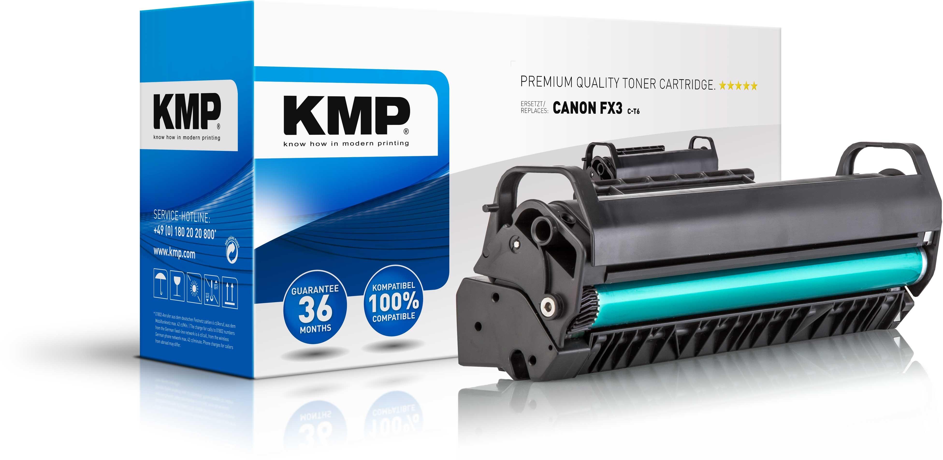 KMP Toner für Canon FX3 Fax L200 L300 Multipass L90