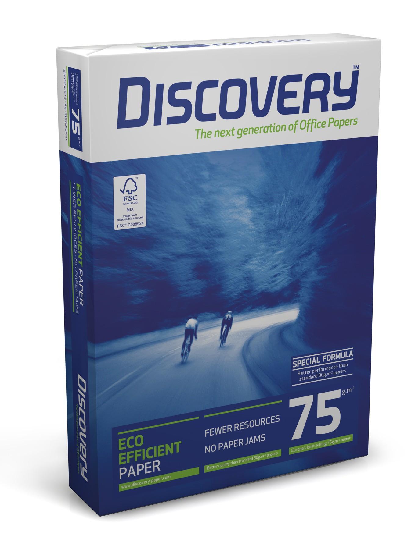 Vorschau: Discovery Multifunktionspapier 75g/m² DIN-A4 - 500 Blatt weiß