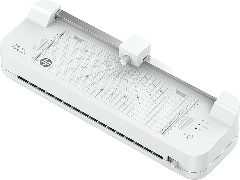 HP OneLam Combo A3, Laminiergerät, 75/80 - 125 Micron, 400 mm pro Minute, inkl. Integriertes Schneid